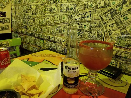 Leave your mark on Ensenada - Post $1 Bill.