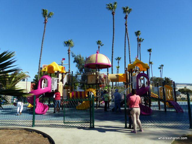 Playground near Ensenada cruiseport