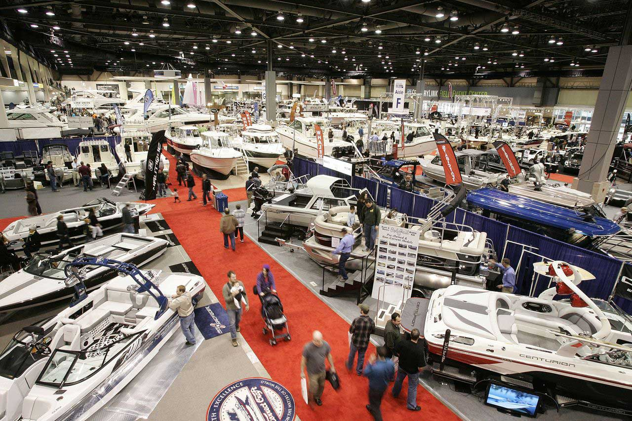 Grand Rapids Auto Show 2020.Wmo At The Boat Show West Michigan Offshore