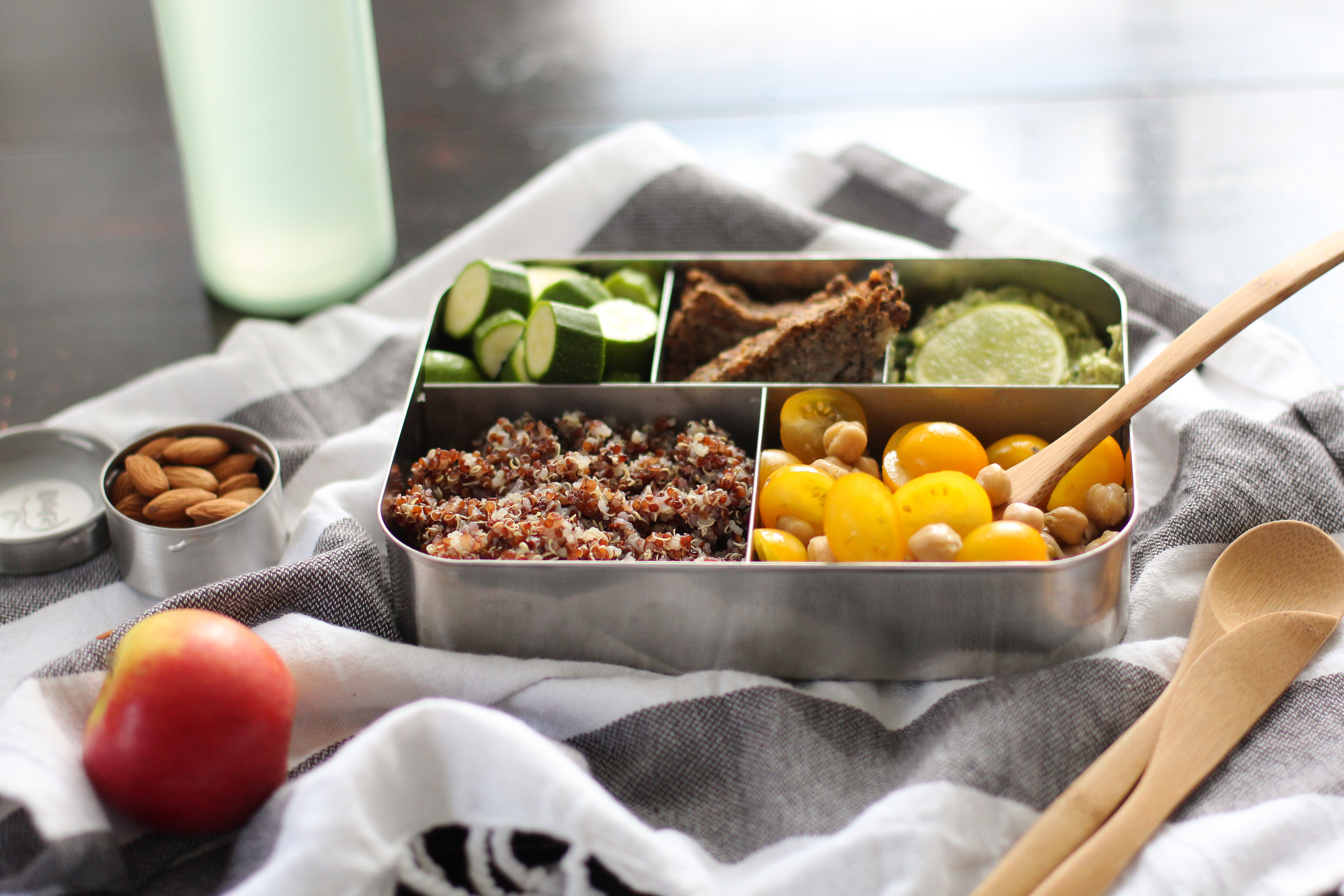 Click on the image to read Hardeep's strategies for packing lunch!  Photo credit: image source: http://nutritionstripped.com/how-to-build-a-healthy-lunch-box/