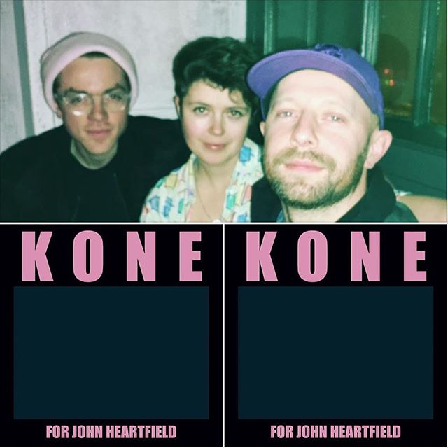 "New single 'For John Heartfield' is out today. Streaming everywhere On Spotify here: (https://open.spotify.com/artist/5zHFWf3kcI1j6gxVXc9wif) and available to buy on iTunes / all good platforms. This is the first of a series of singles we'll be releasing over the next year. Come at us. ""A damn good tune [that] recalls the finer highlights of new wave... KONE now have to be taken very seriously as one of the city's leading acts. Nightshift Magazine, Oxford. #NowPlaying"