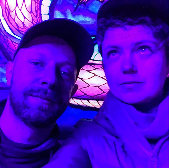 We turned violet down the Cellar on Monday. Great great night! Thank you Divine Schism x