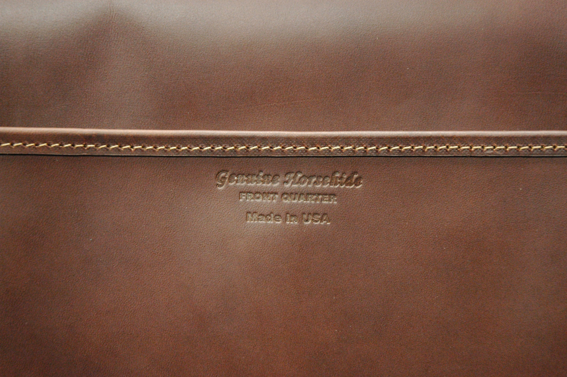 Photos via the  official   Horween Leathers   blog