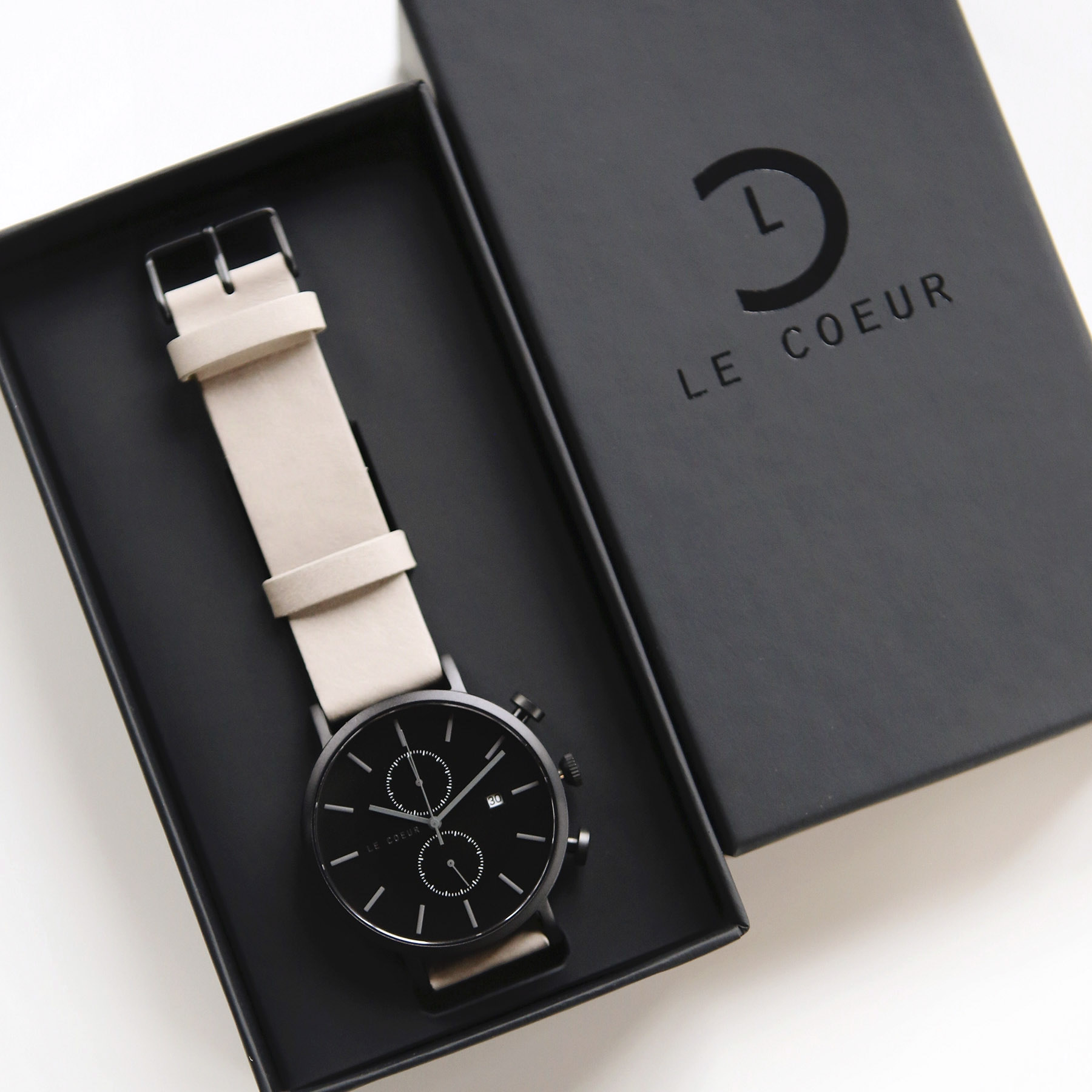 Le Coeur Black and Grey Chicago Chronograph5.jpg
