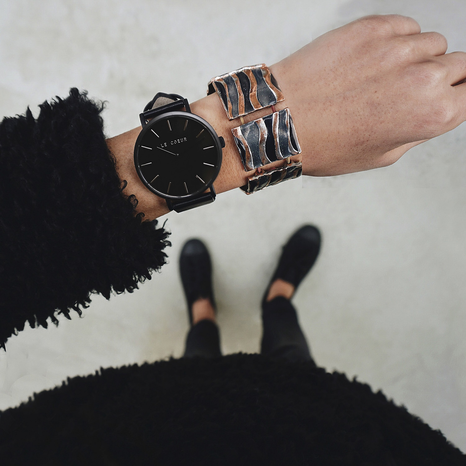 Le Coeur All Black New York Classic Timepiece.jpg