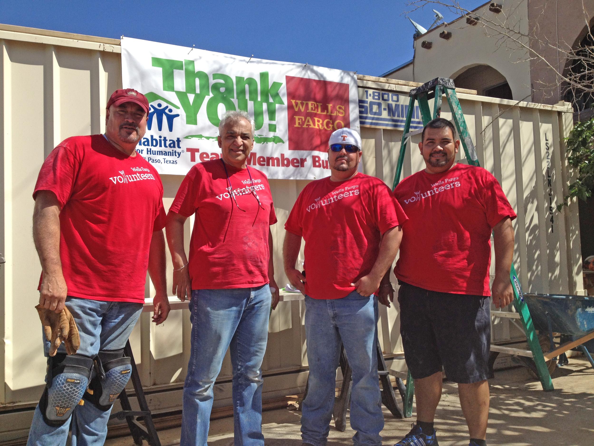 Wells fargo team build, October 2014