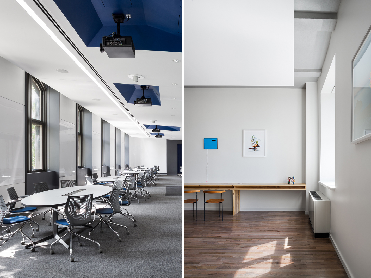 The  Forman Active Learning Classroom  and  Warehouse Loft  each received AIA awards at yesterday evening's Brooklyn / Queens Design Awards. See Studio Modh and the other winners at the  Brooklyn/Queens Design Awards website.