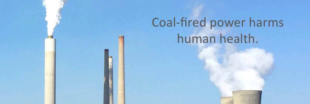 Coal-fired power plants Maryland Virginia health Image Chesapeake PSR