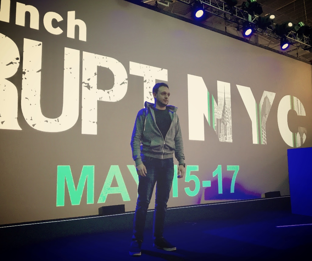 Noah Hyams TechCrunch Disrupt 2017 Hackathon NYC
