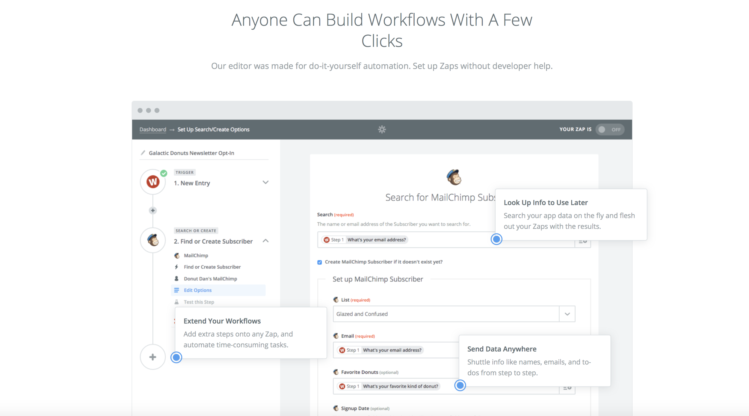Zapier - Automate your Workflows