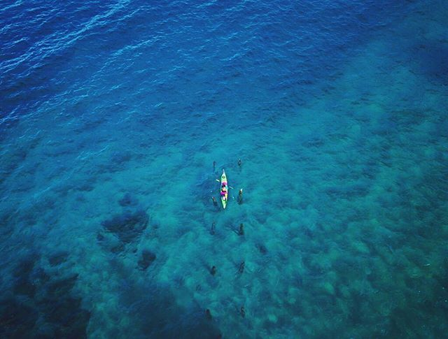 SMALL // The vulnerability-instilling properties of nature are hauntingly attractive.  #laketahoe #kayaking @djiglobal @sierra_livin