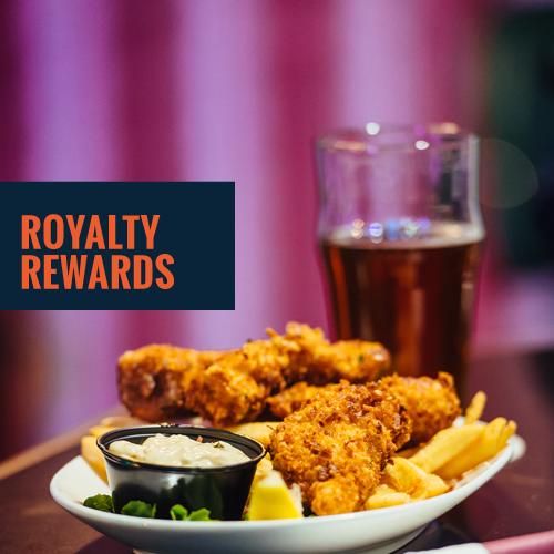 Humpy's Royalty Rewards