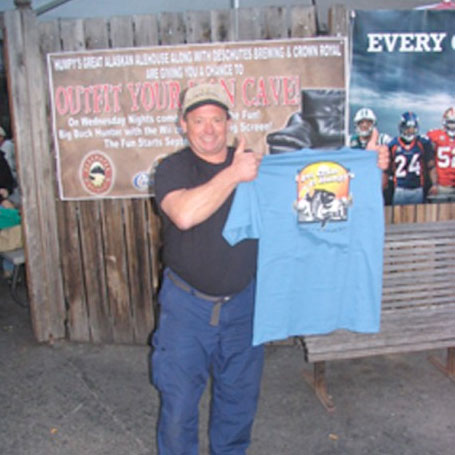 TIME: 49:38    ROBERT MILETIC  Robert Miletic of Tampa, Florida finished in 49min 38sec That puts you in 3rd place, right behind Adam. Great job! Thanks for coming to Humpy's Great Alaskan Alehouse