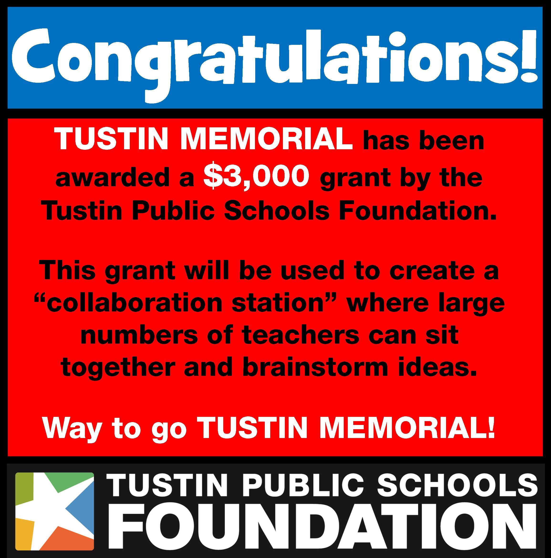 Tustin Memorial Grant Ad.jpg