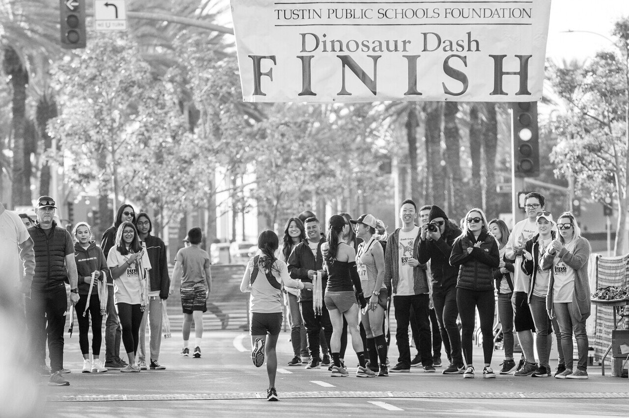 Thank you for making the Tustin Public Schools Foundation 29th Annual Dino Dash the best yet! - We appreciate the support of our sponsors, participants and volunteers who helped make it happen. Together you helped raise more than $215,000 that goes back to students in our local schools.