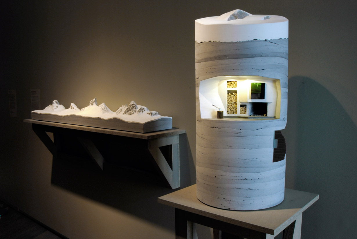 Range Redoubt Sculpture at Otherworldly: Optical Delusions and Small Realities at MAD