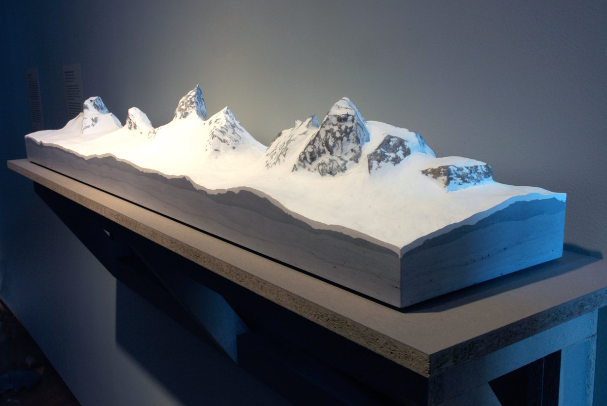 Range Redoubt Sculpture mountain