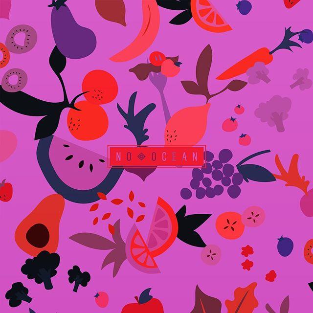 🍉🍇🥑🍒 . . . . . #surfacepattern #surfacedesign #pattern #patterndesign #fruitpattern