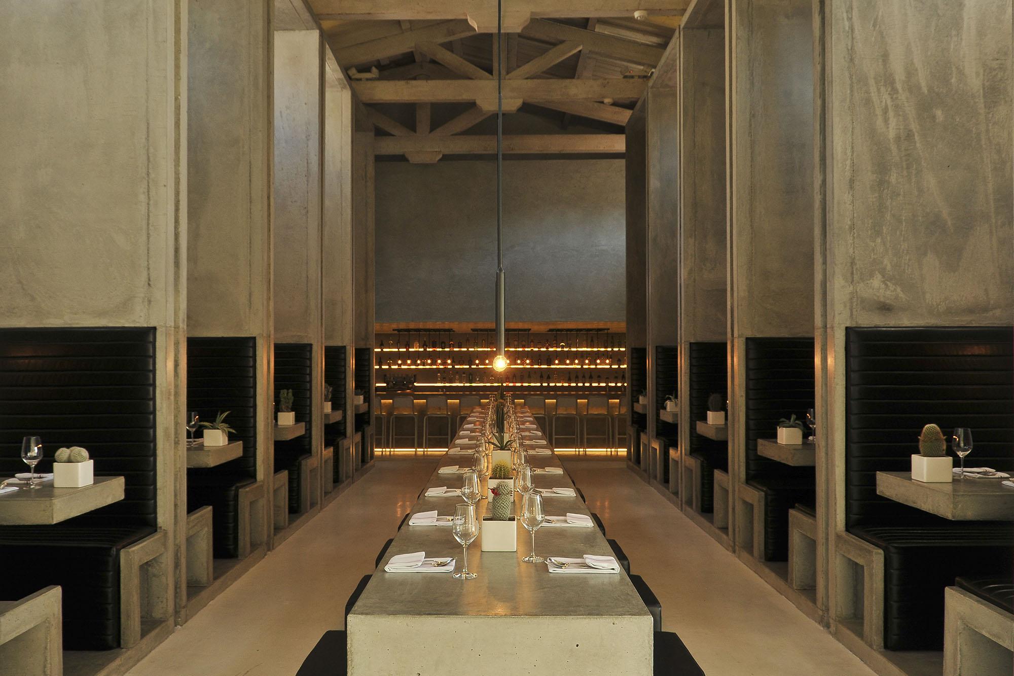 Enjoy stunning minimalist design at Workshop.