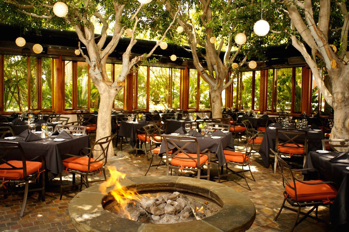 Don't miss the Kung Pao Calamari while at Spencer's gorgeous outdoor dining room.