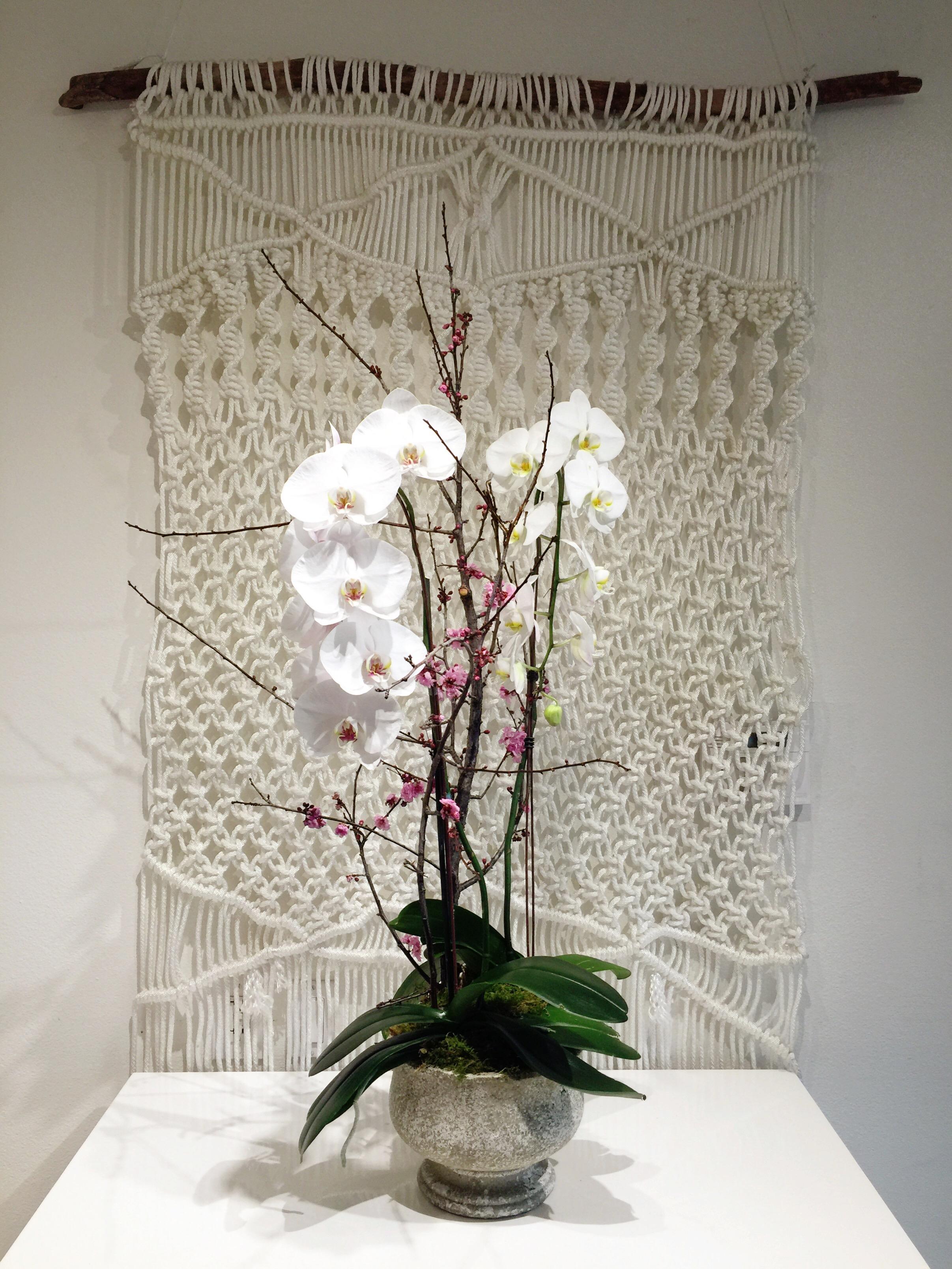 Double Orchid Arrangement