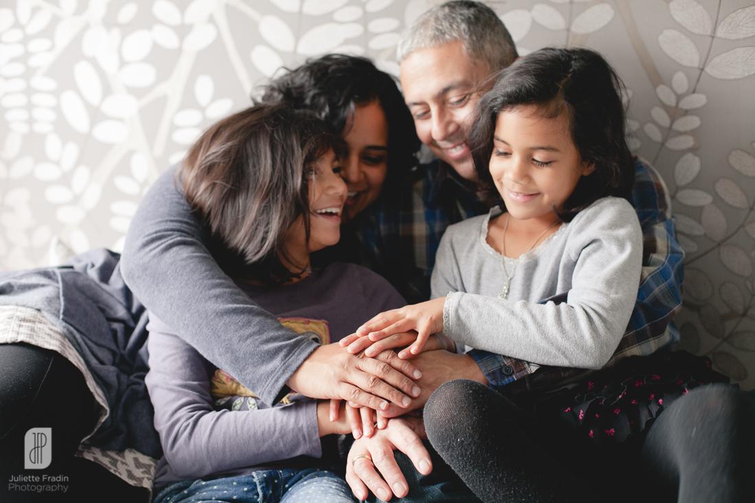 Juliette Fradin Photography ~ family lifestyle indoor Alexandria, VA