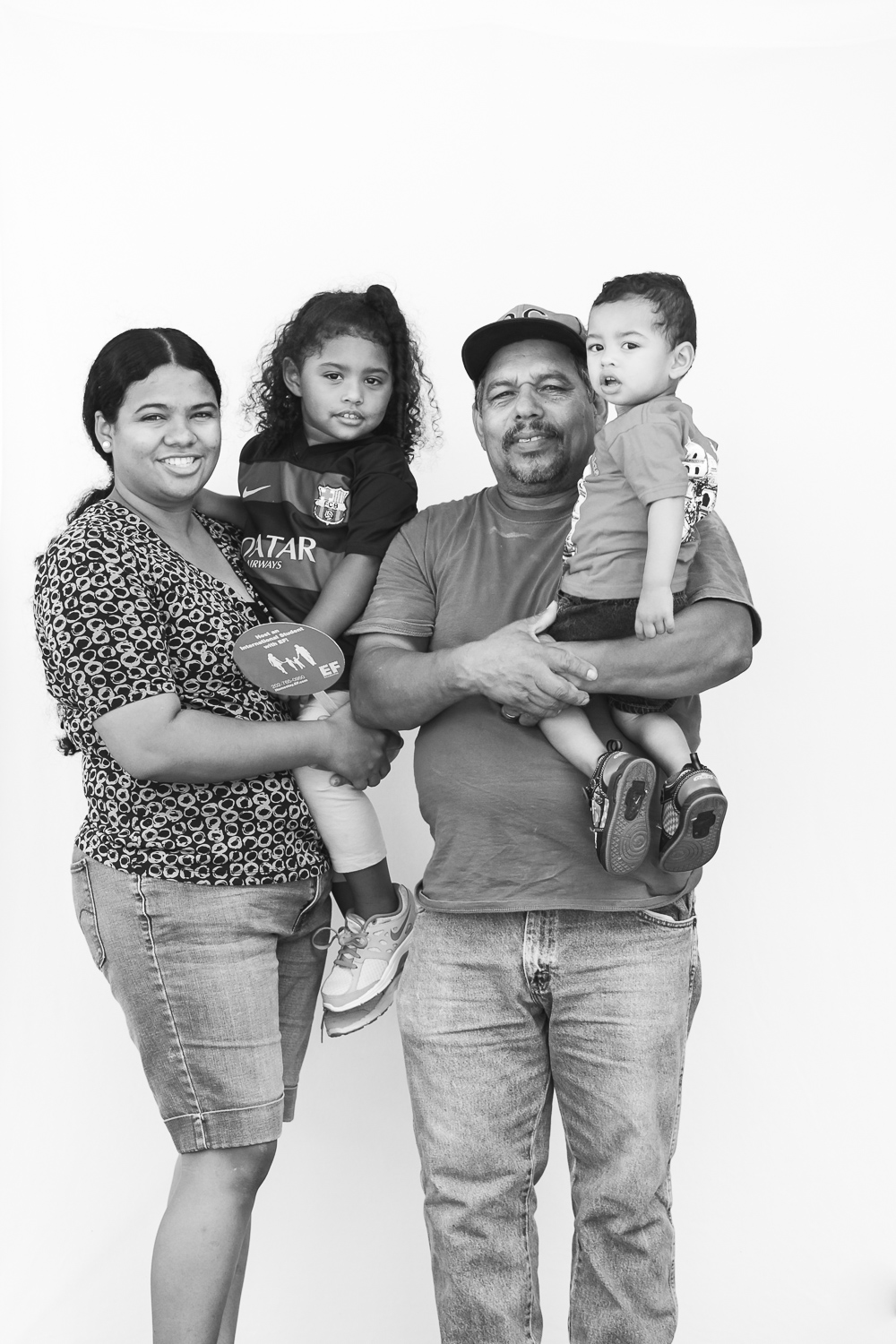 Been living in Hyattsville for 6 years. Maria, Miguel, Walter, Alejandra