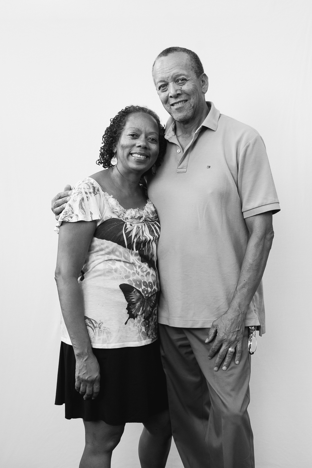 """We like the sense of community.""""We all look out for one another"""" David and Lynette"""