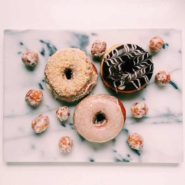 """Zac Wolf on Instagram: """"Made the pilgrimage to the new @unionsquaredonuts to wake @becca_bakes up with some fresh donuts. The new shop is beautiful. Congrats @heatherschmidt_ the city is lucky to have you and your treats."""" 2015-02-26 13-11-44.jpg"""