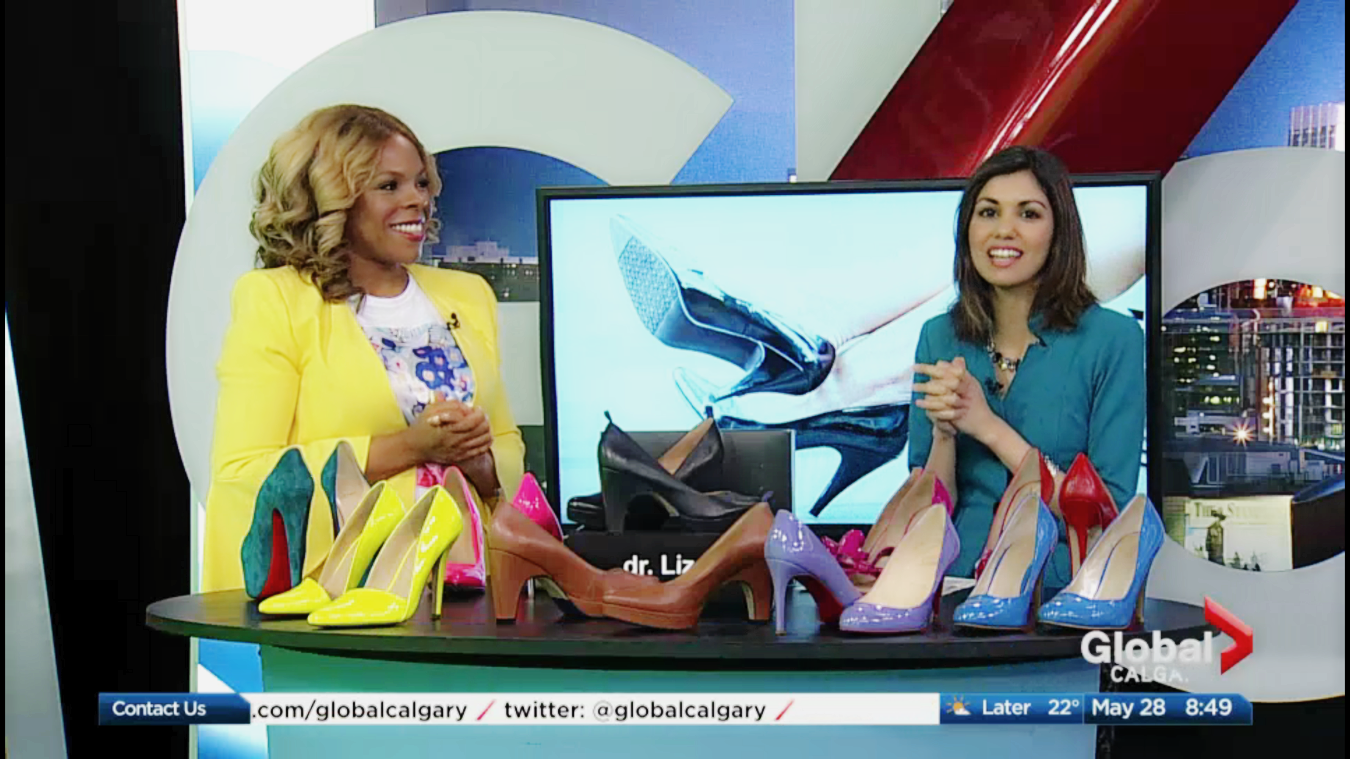 Want to know what to look for and what to avoid when shopping for high heels. Watch the segments below. For more information about the dr. Liza pump visit drLizashoes.com