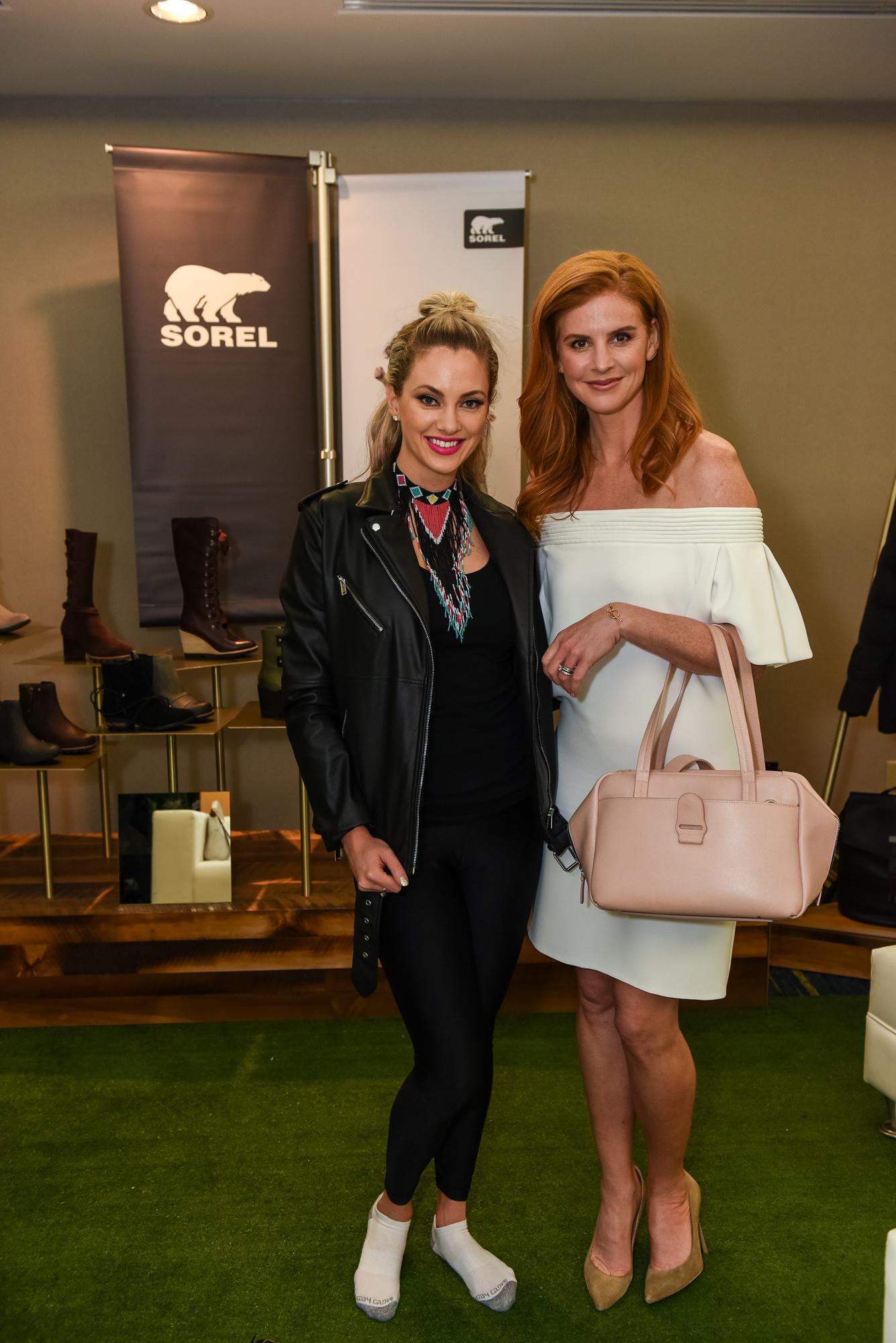 Nicole Arbour + Sarah Rafferty