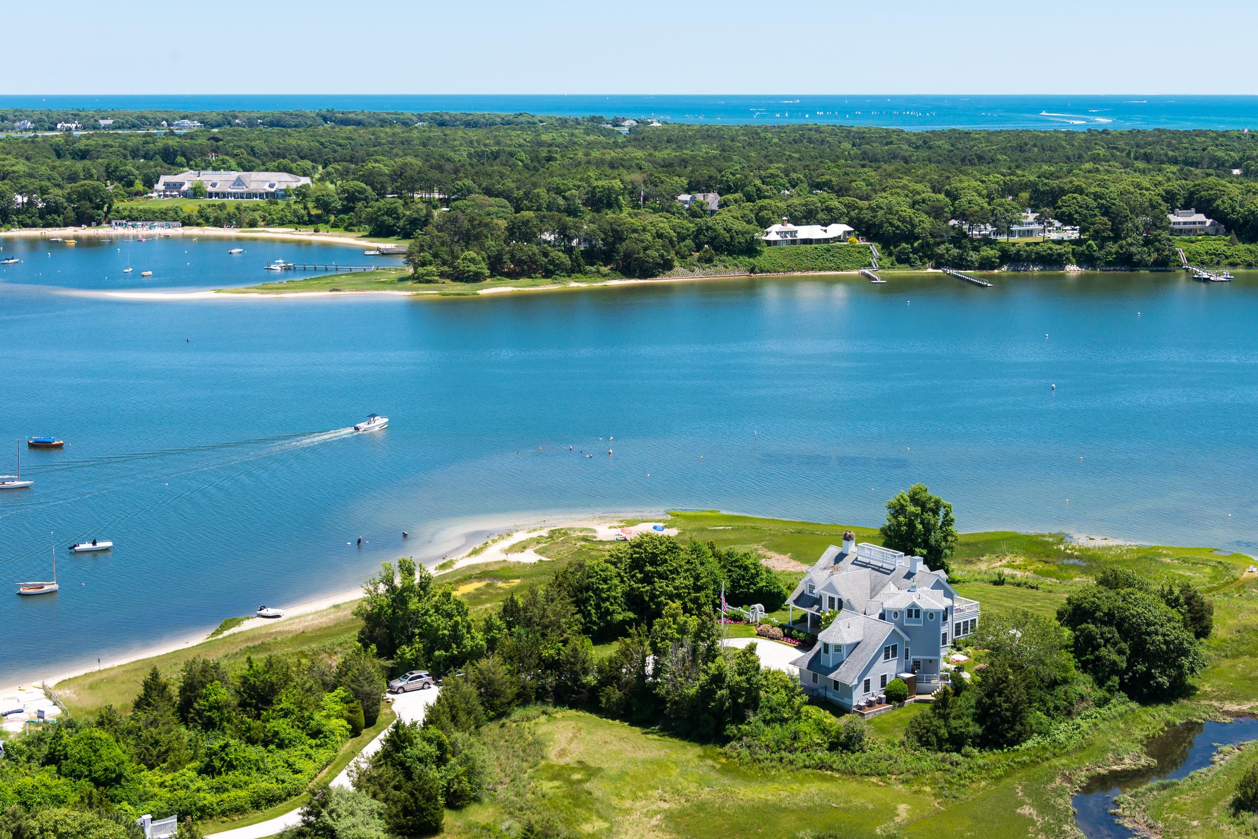 Buzzards Bay Massachusetts Aerial Photography