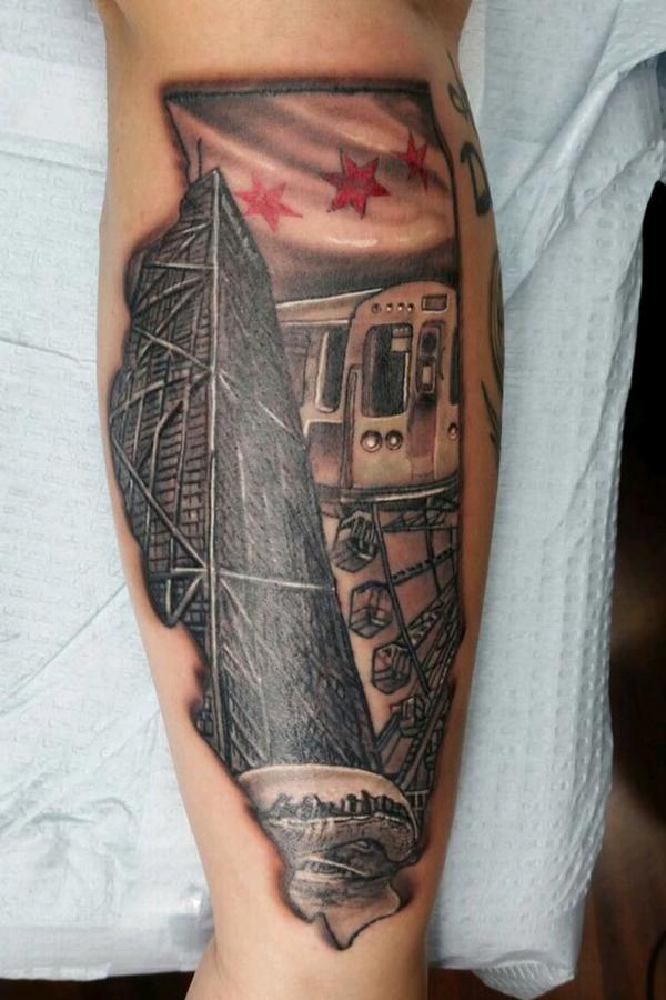 State of Illinois Tattoo