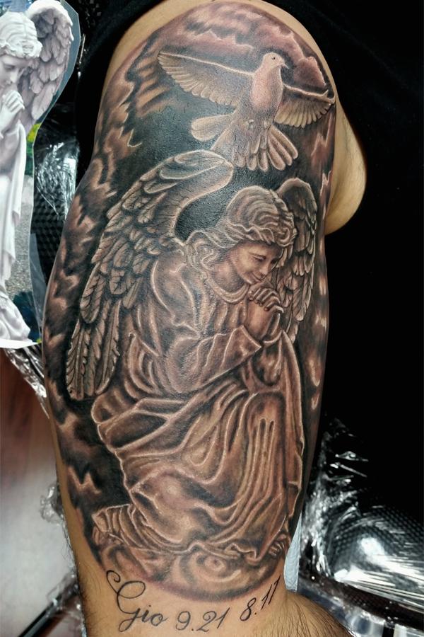 angel prying