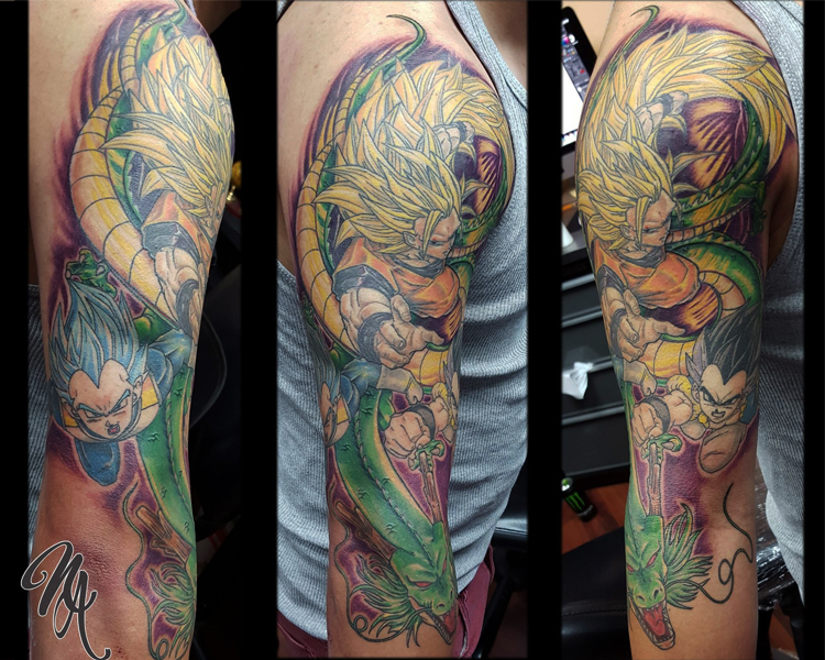 Full color Goku