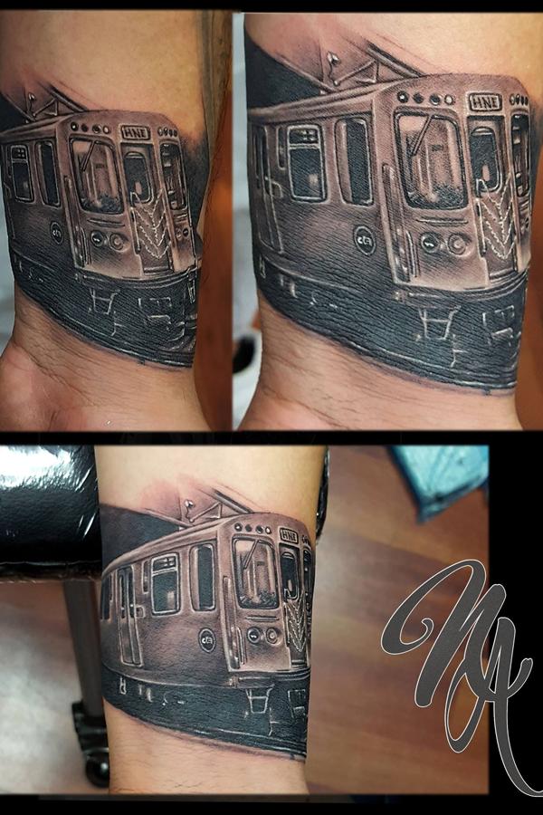 Cta Train Chicago