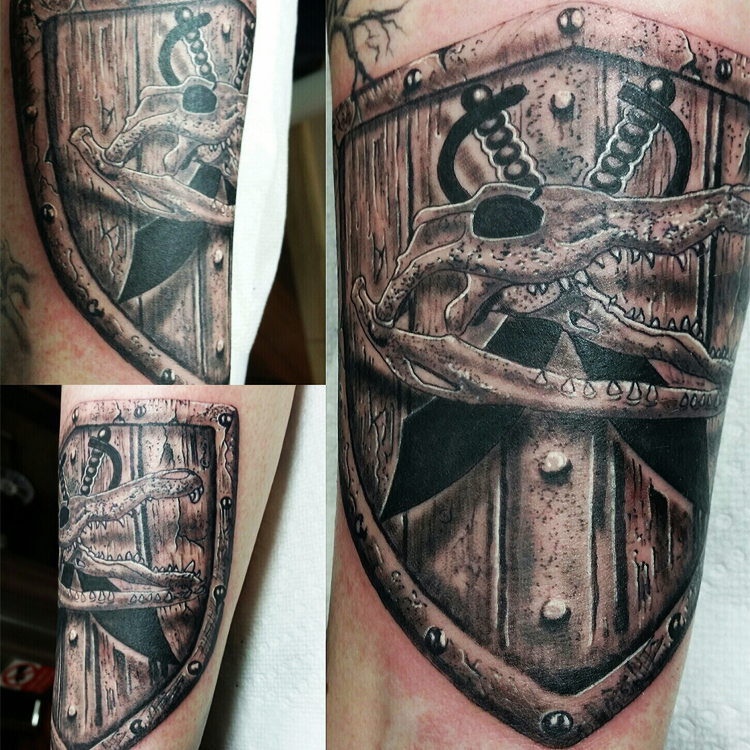 Custom shield