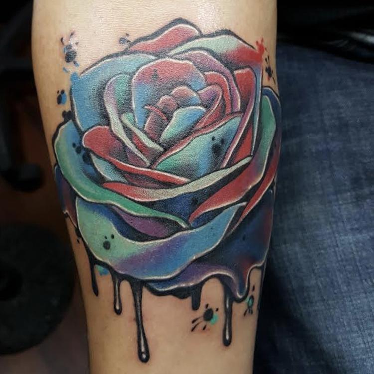 rose water colors