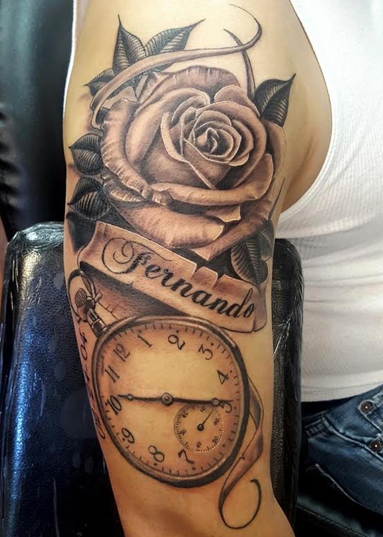 Clock flower name