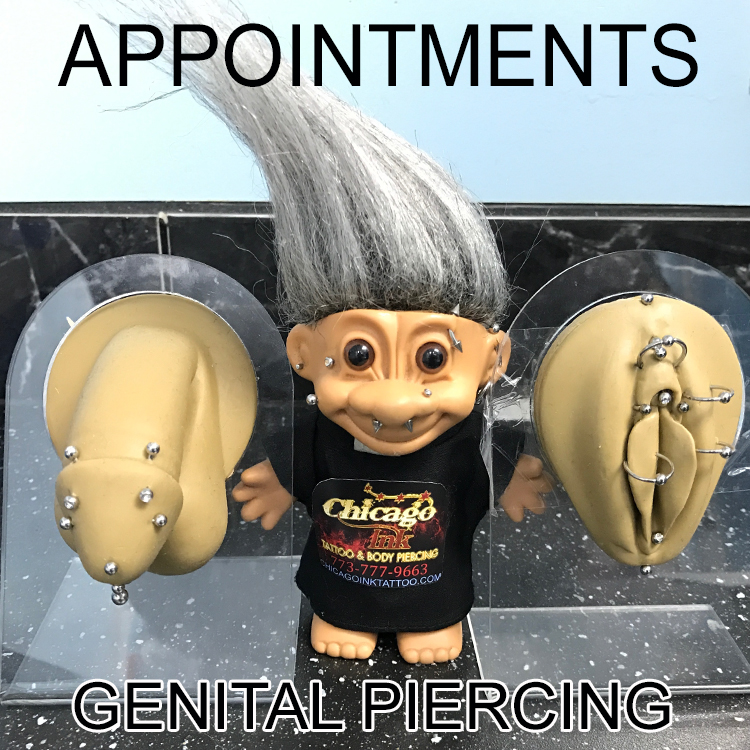 genital piercing male and female