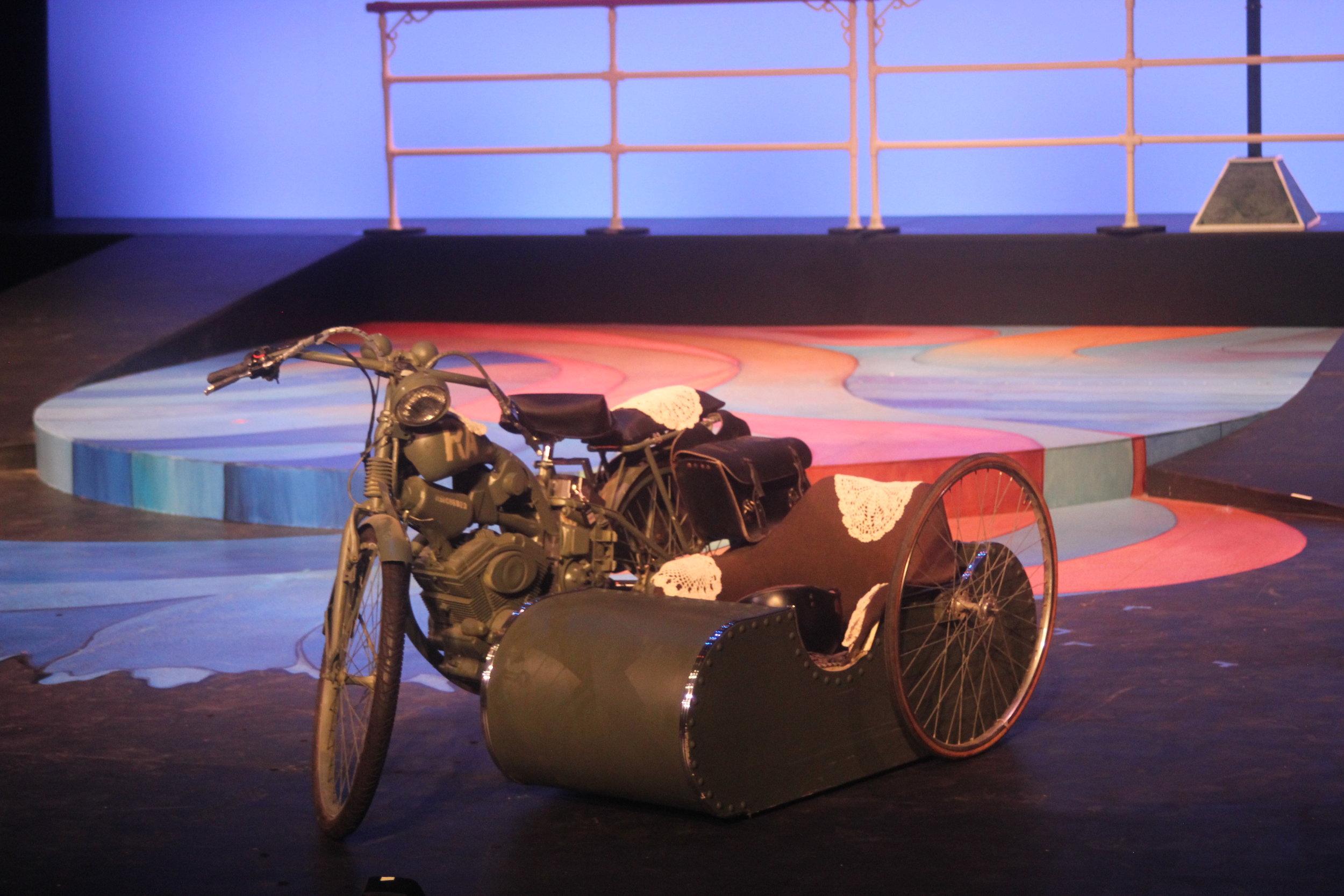 Motorcycle Side Car