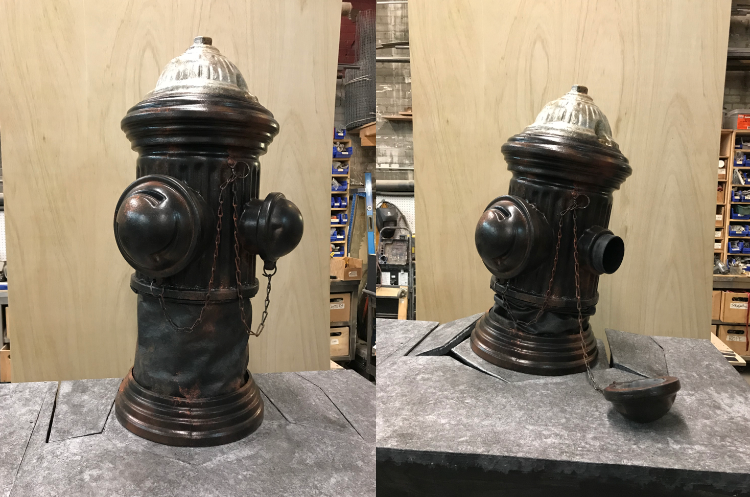 Crushable Fire Hydrant