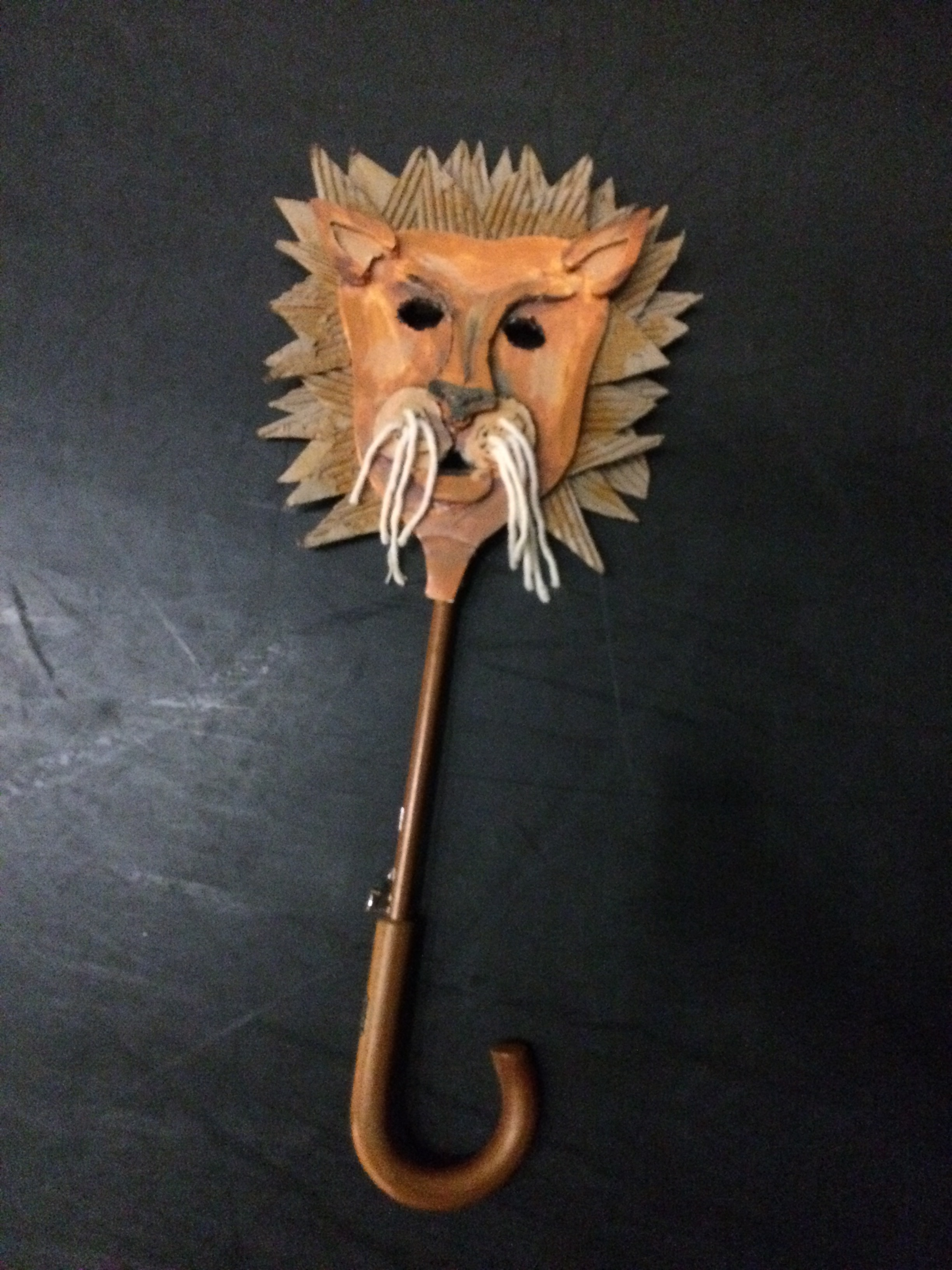 Lion Mask Puppet