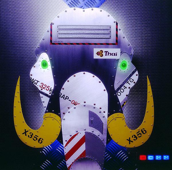 Thai Airways Freight Ad Elephant Stills Model by Kent Miklenda.jpg