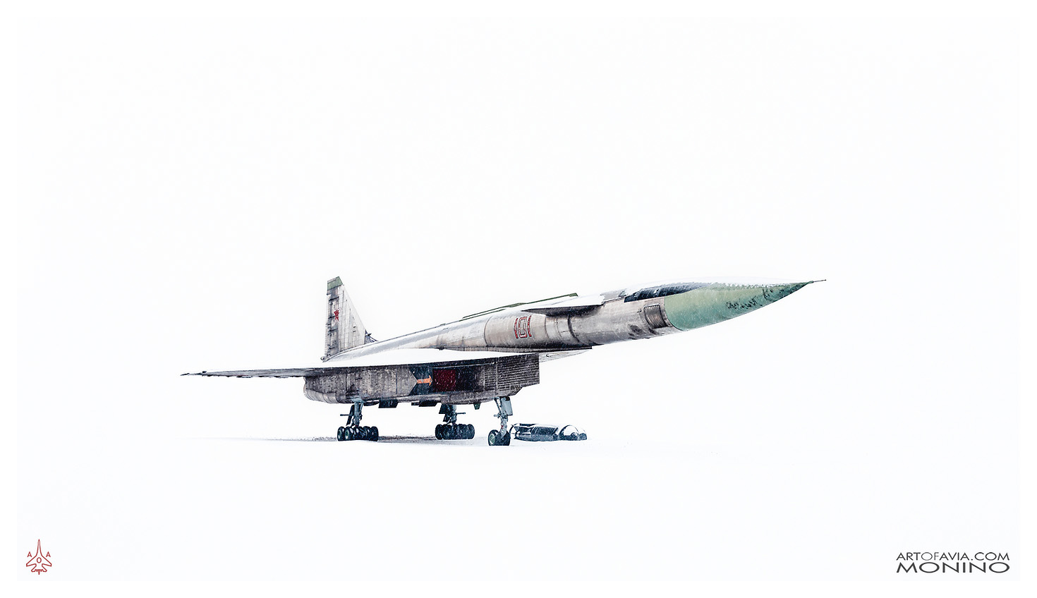 Sukhoi-T-4-Sotka-Project-100-Nose-Up-Central-Air-Force-Museum-Monino-Art-of-Avia-by-Kent-Miklenda-800pxh-2-WW-FR-A-BW.jpg