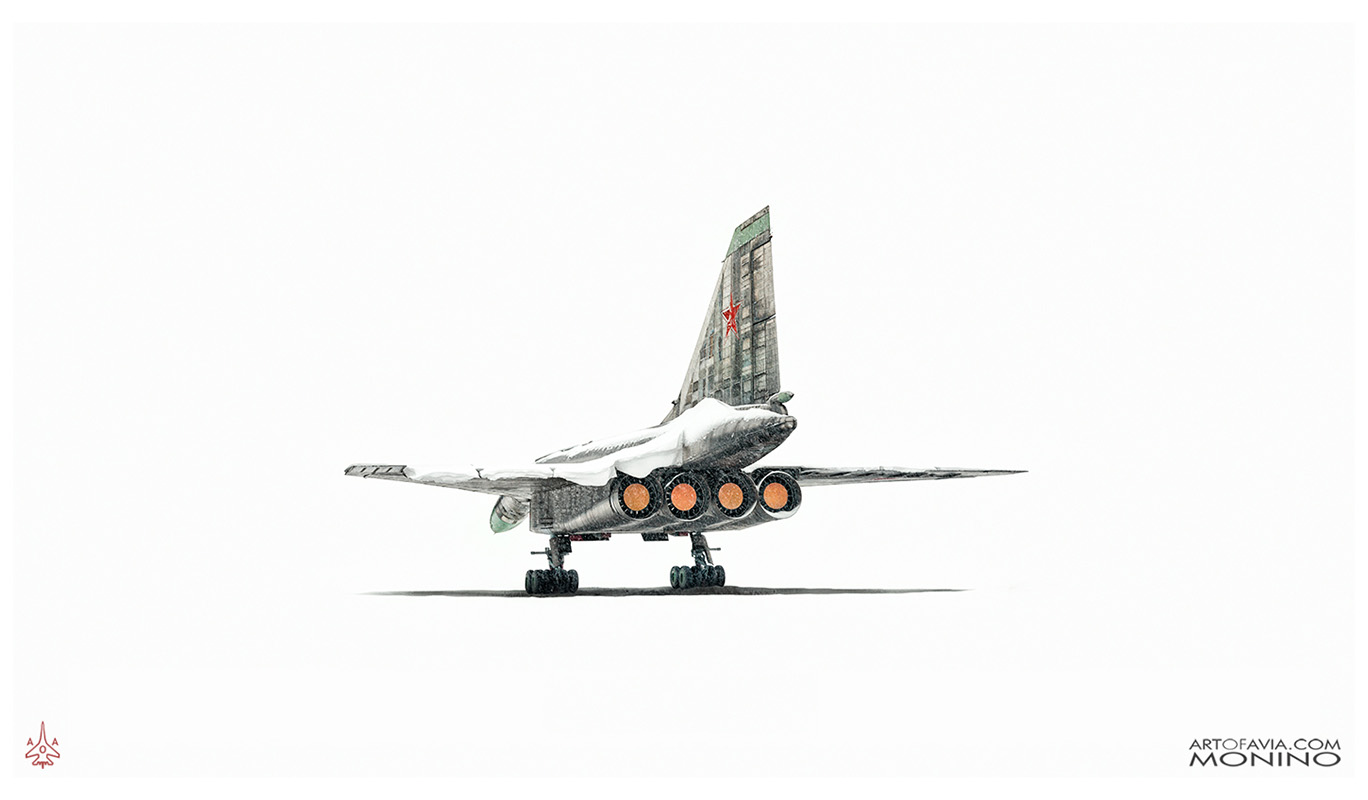 Sukhoi-T-4-Sotka-Project-100-Rear-Art-of-Avia-Central-Air-Force-Museum-Monino-by-Kent-Miklenda-800pxh-WW-R-A-BW.jpg