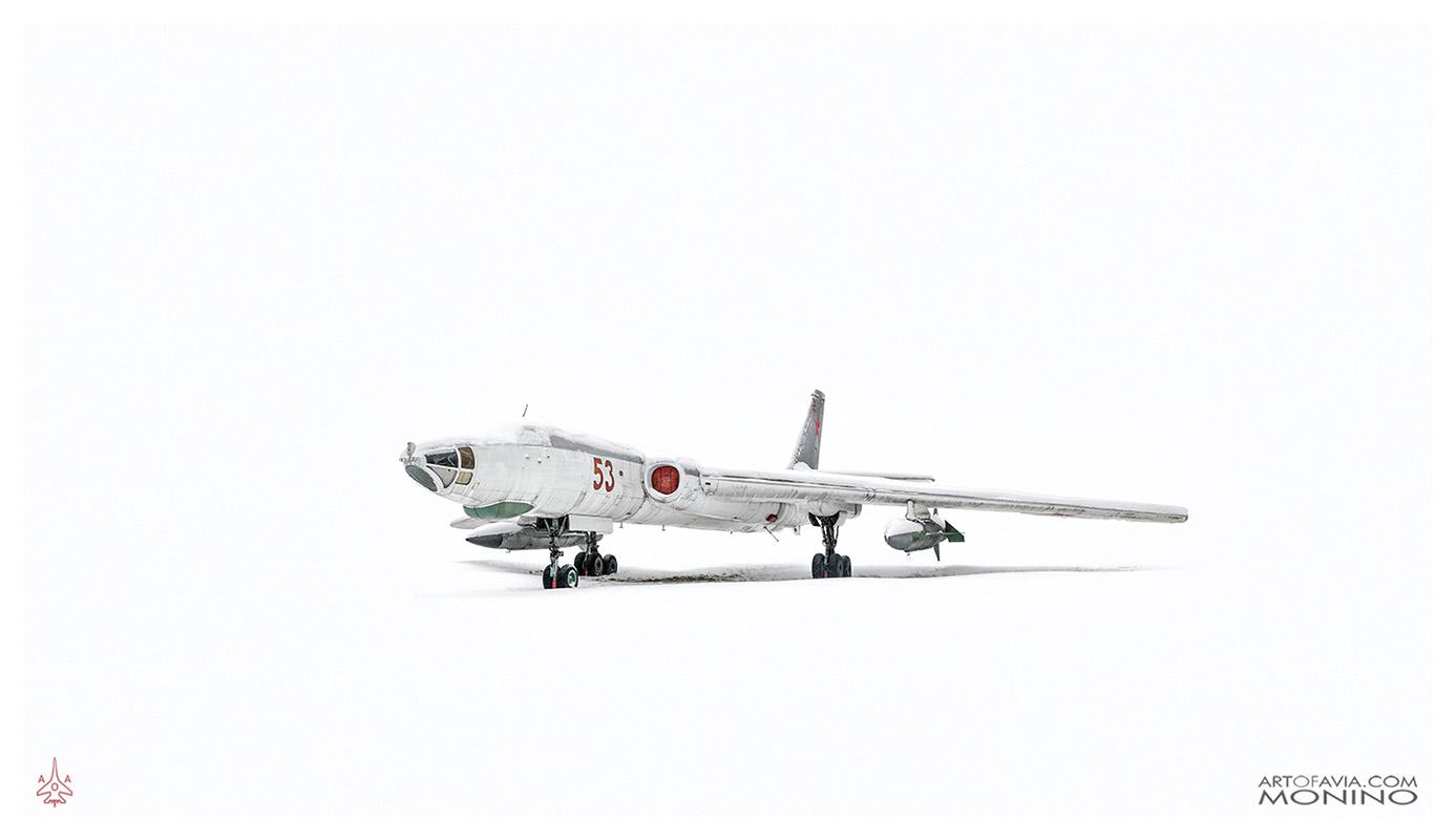 Tuplolev-Tu-16-Art-of-Avia-Central-Air-Force-Museum-Monino-by-Kent-Miklenda-800pxh-WW-A-BW.jpg