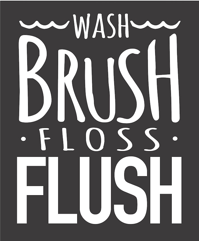16X19 WASH brush floss flush.jpg