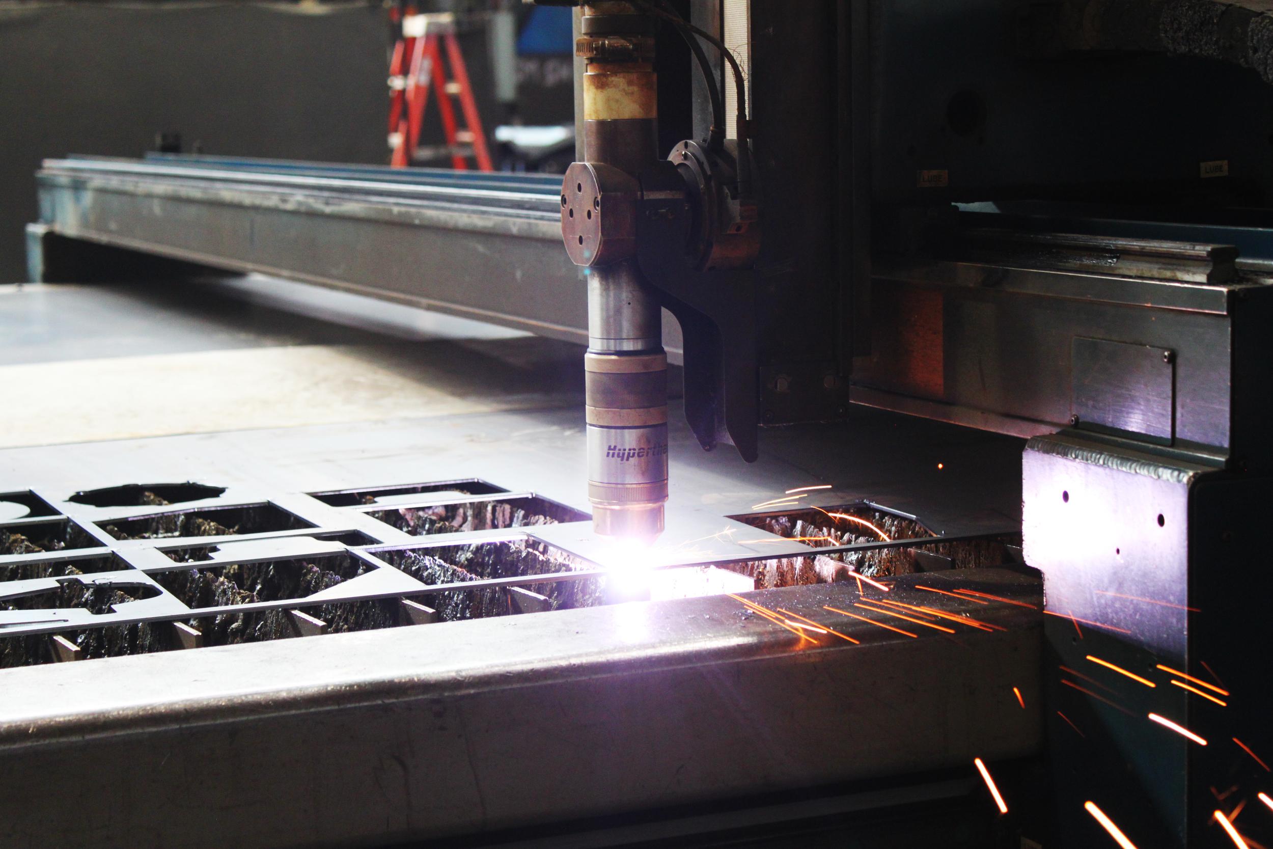 1. CNC Plasma Cut