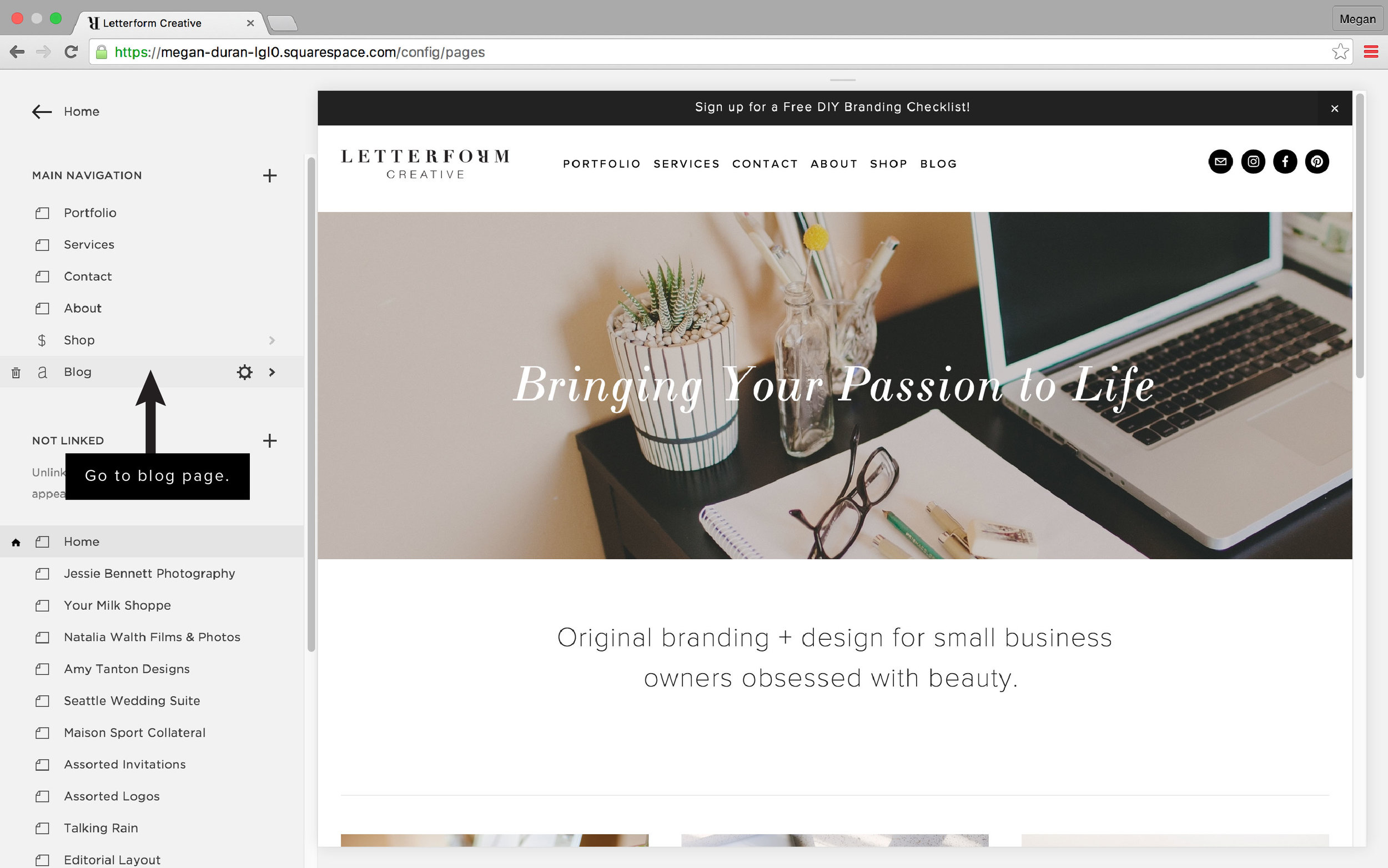 Squarespace 101: Creating a Blog Post